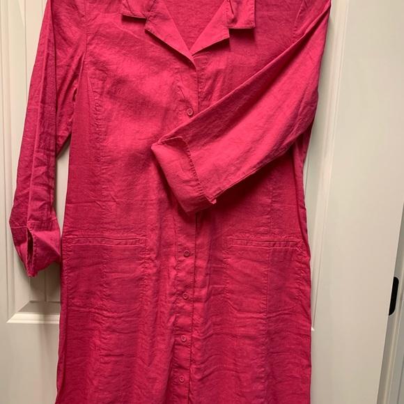 Eileen Fisher Dresses & Skirts - Eileen Fisher pink dress